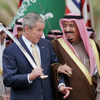 Why Has Saudi Arabia Allowed It's Land to Be Used as a Base for the U.S. Military?